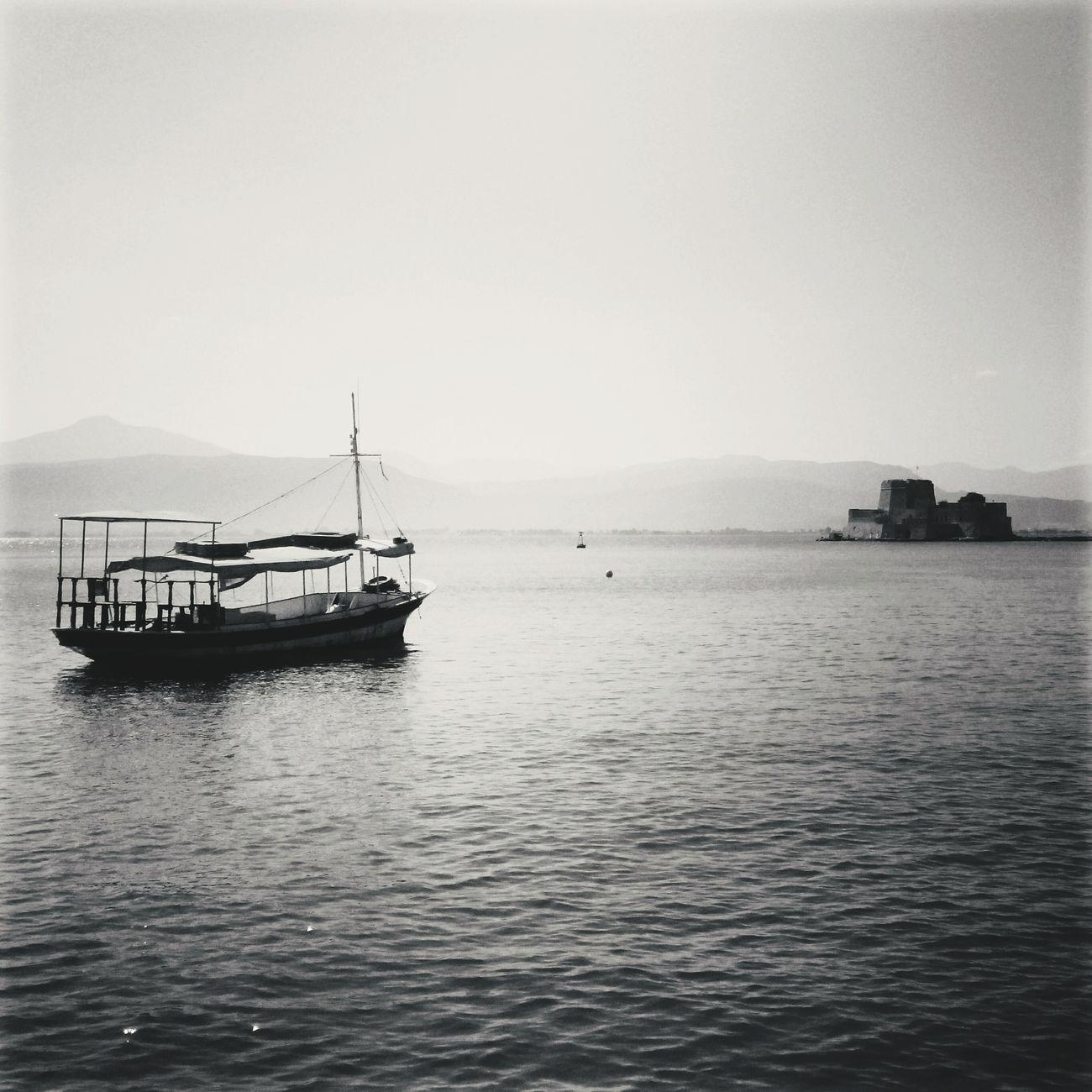 Nafplio, Greece. Hellas Macedonia Greece Blackandwhite Nafplio