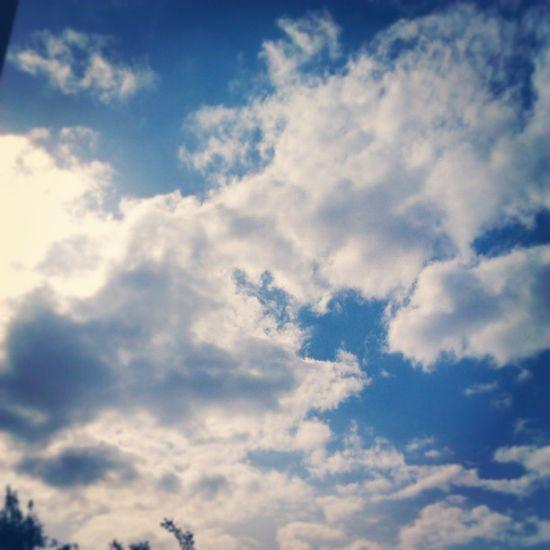 Sun is shining!! Bristol Sky Sun Sunshining instagood