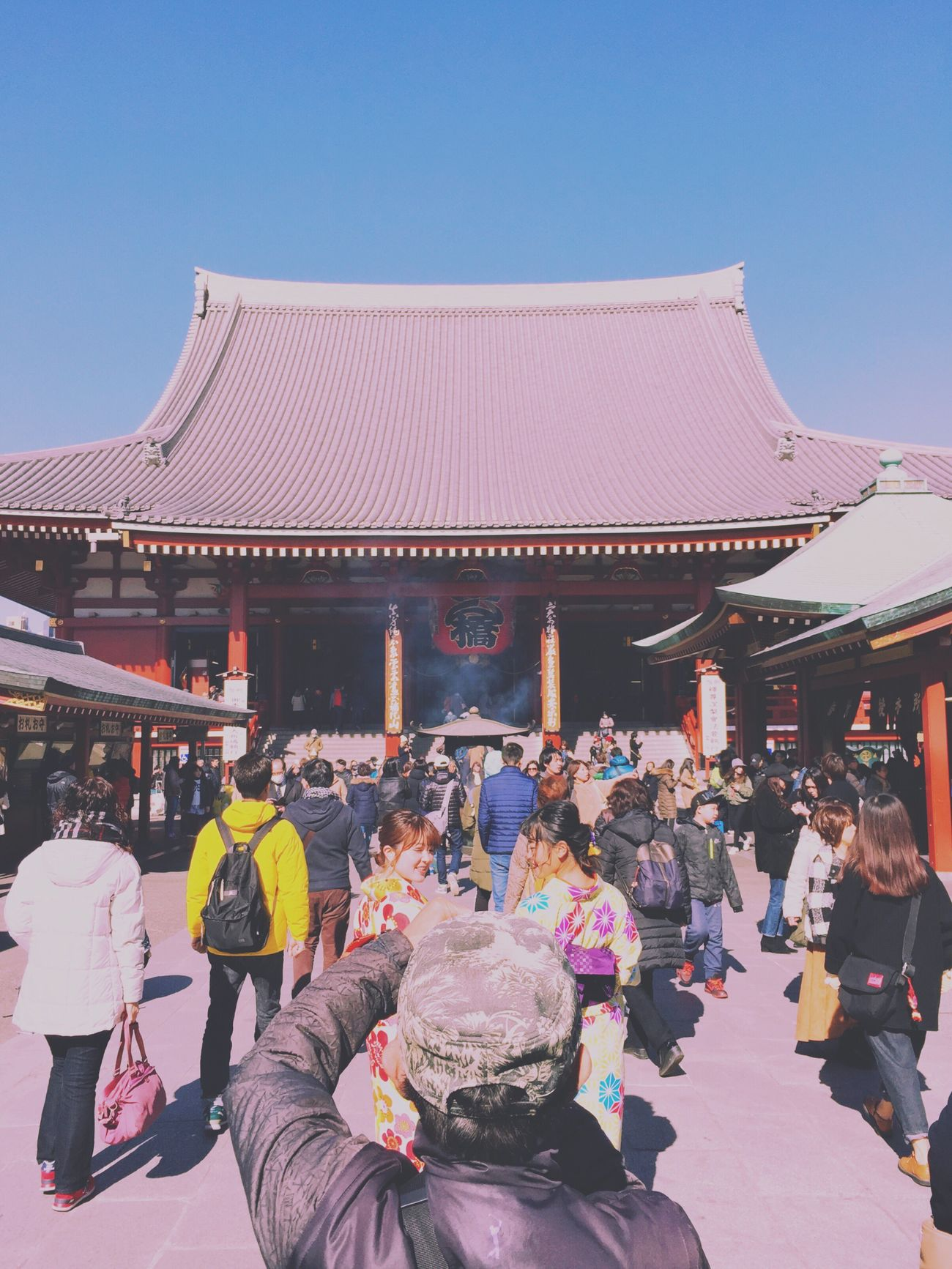 Real People Spirituality Tradition Leisure Activity Outdoors Religion Lifestyles Japan Asakusa Eyem Best Shots Mobilephotography Snapshots Of Life Streetphotography