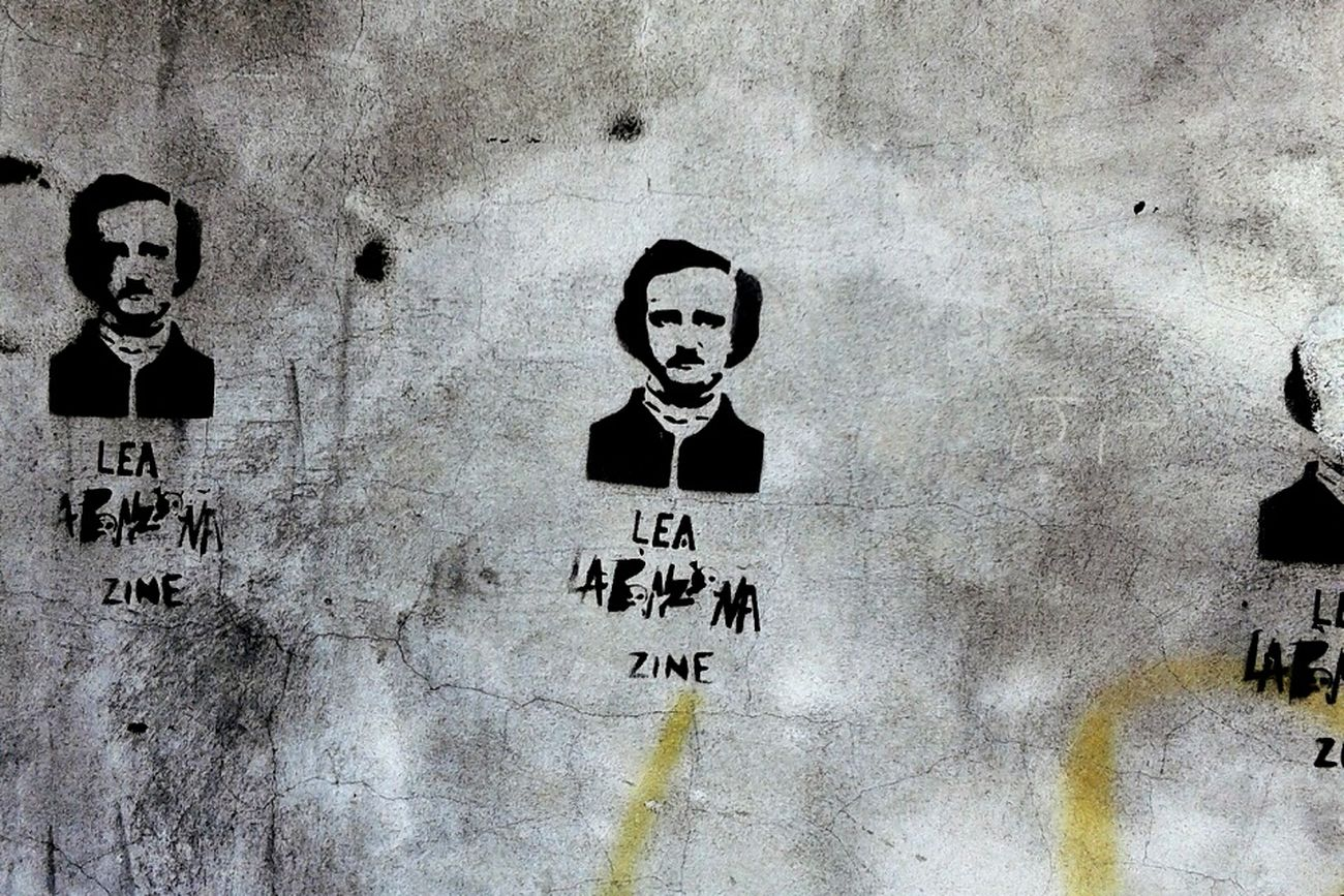 Stencil Stencil Art Poe Edgarallanpoe Edgar Allan Poe Urban Streetphotography First Eyeem Photo