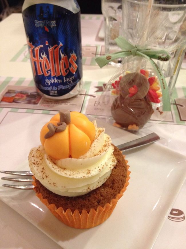 Happy Thanksgiving !!! Cupcakes Sweet Tooth Dessert The Five Senses