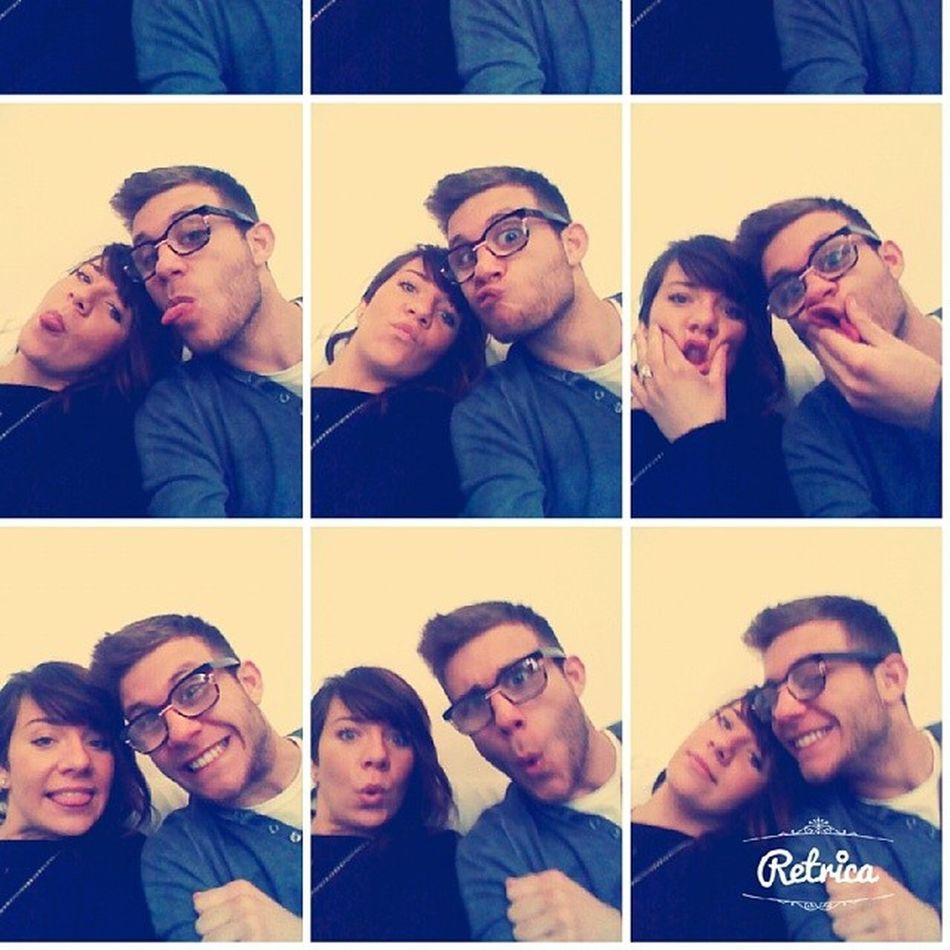 Me My Sister Love Her Likehome Photograph Selfie Retrica Trust Follow4follow Liketoback Liketolike L4l LINE Buona Pasqua Happy Smile Ferty Beautiful