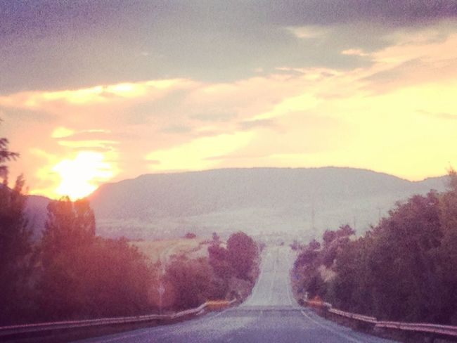 Sun ☀ Road To Nowhere Nature Photography Love Driving Out Of The City