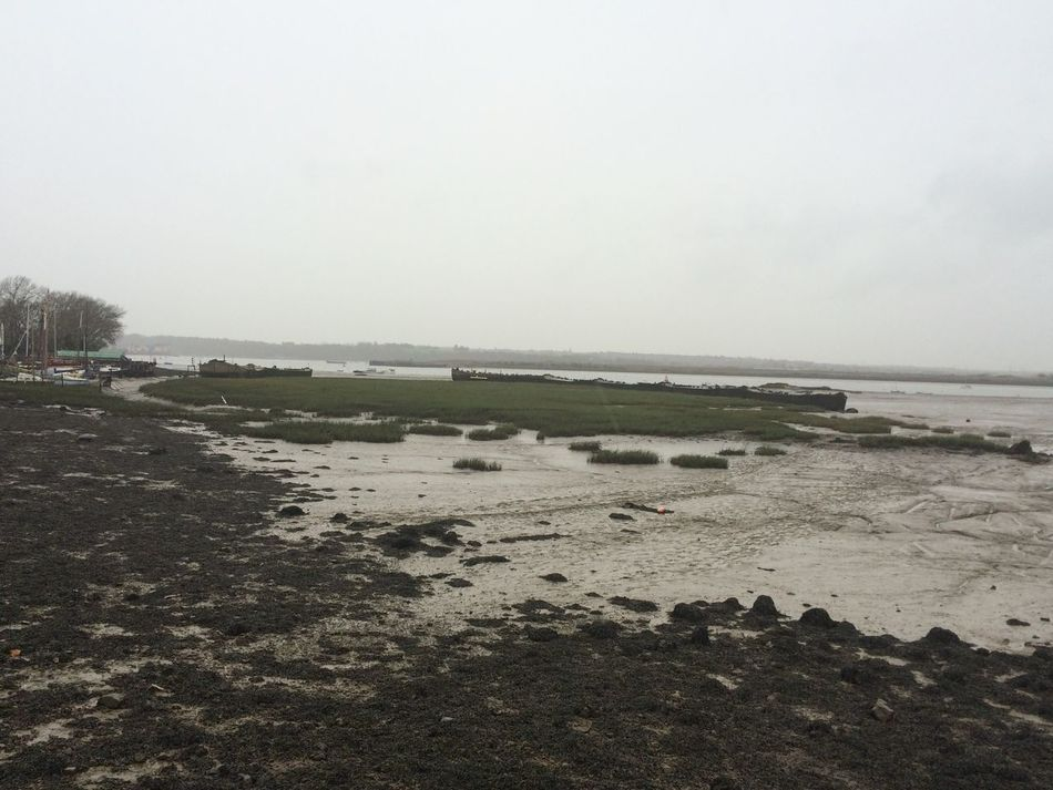 Walking By The River River Medway Rain The Strand Medway By The River Walking Alone The River