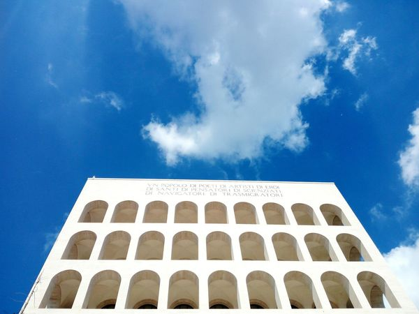 History Architecture Built Structure Arch Travel Destinations Cloud - Sky Blue Sky No People Day Outdoors City City Roma Architecture