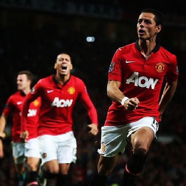 Hernandez celebrations after score a goal against liverpool | FT man.united 1-0 liverpool Chicharito Celebrations Bigmatch Goal manunited liverpool