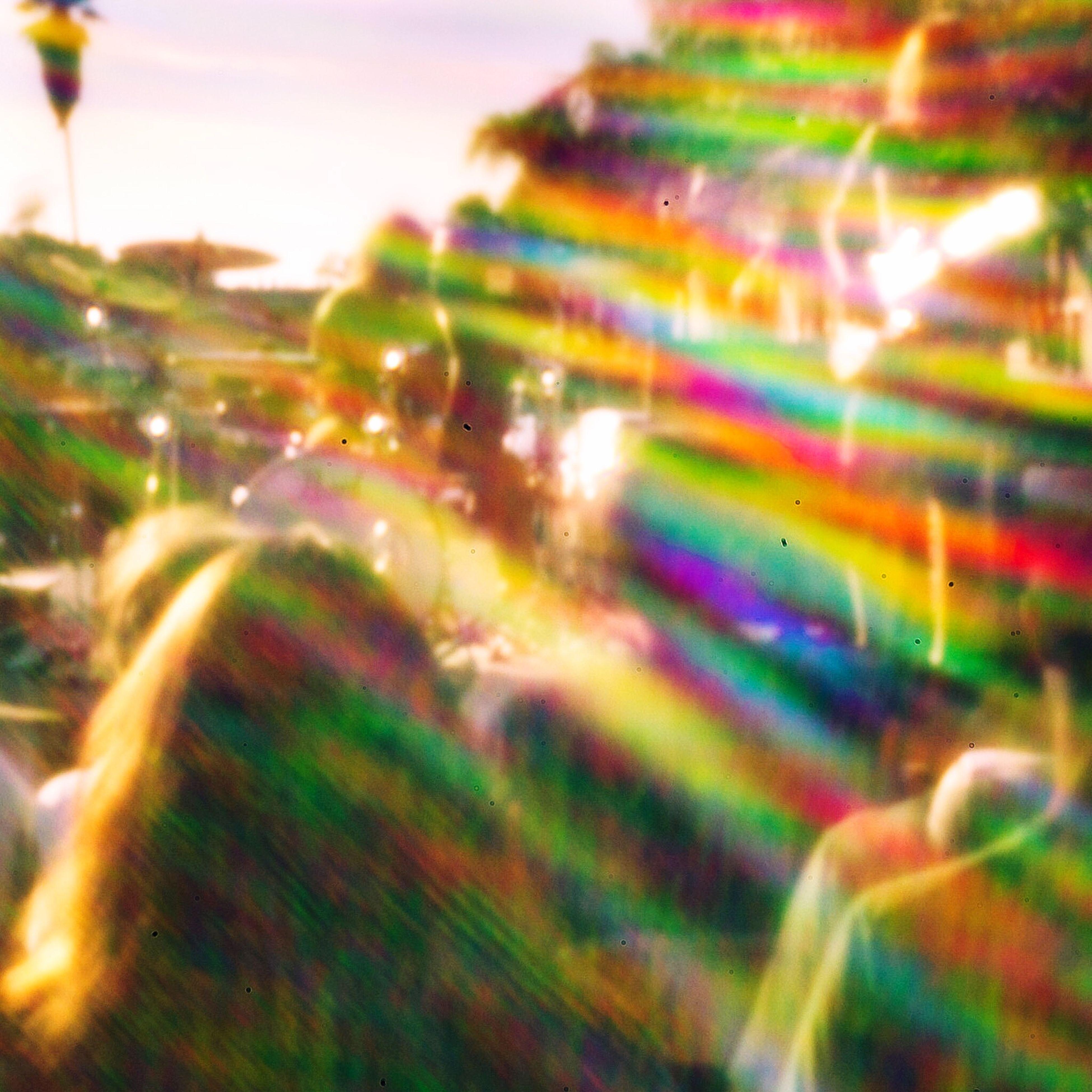 Isla Vista Abstract Pinhole TINFOIL Vibes Tribe Tiedyed