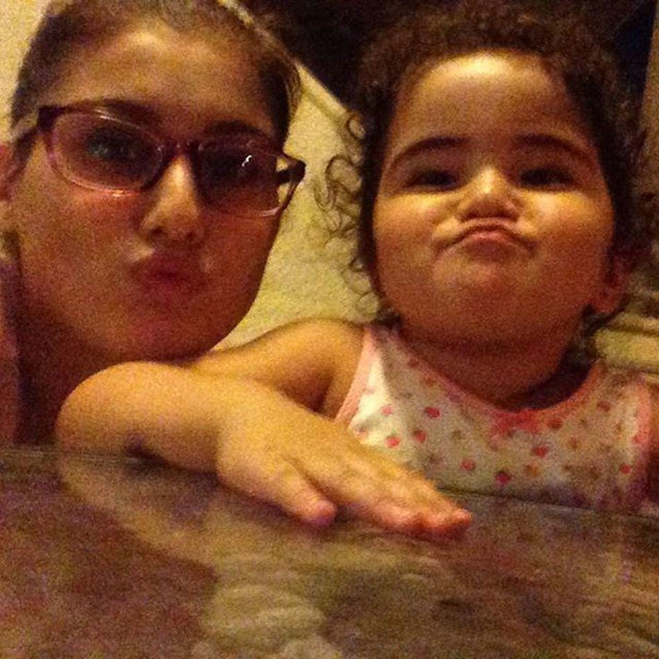 Duck face with sara ❤️my sister from other parents 😁 Cute Girl Crazy_cousin Lovely_girl