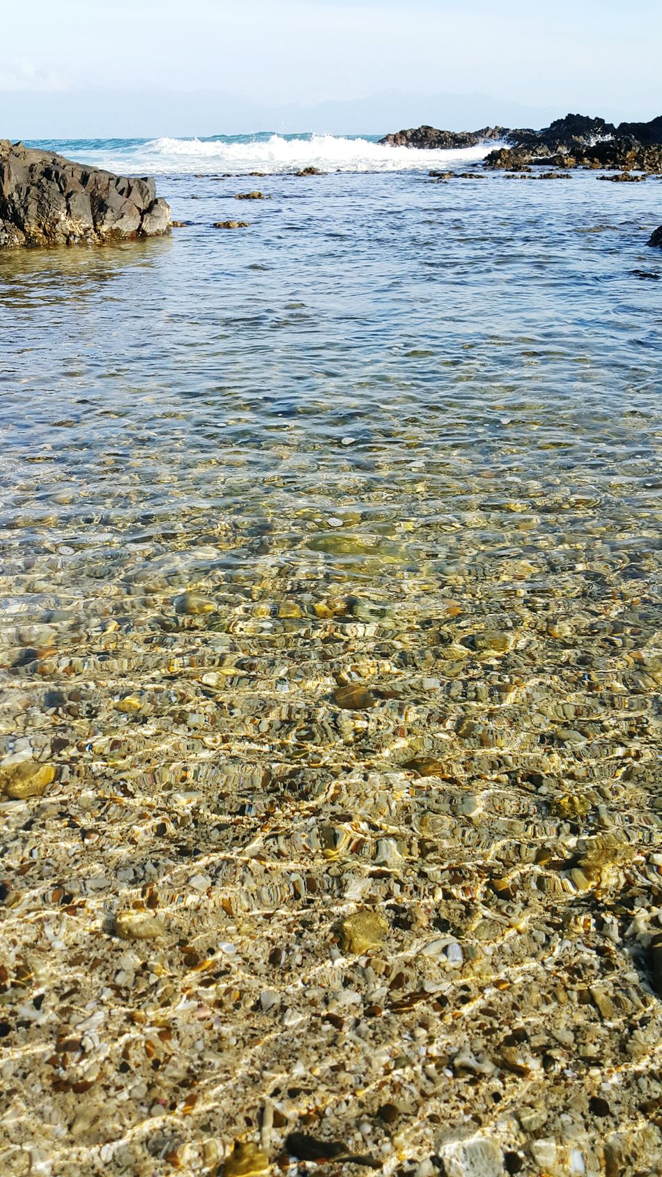 Clear Sea Water. Stones And Pebbles Philippines EyeEmNewHere