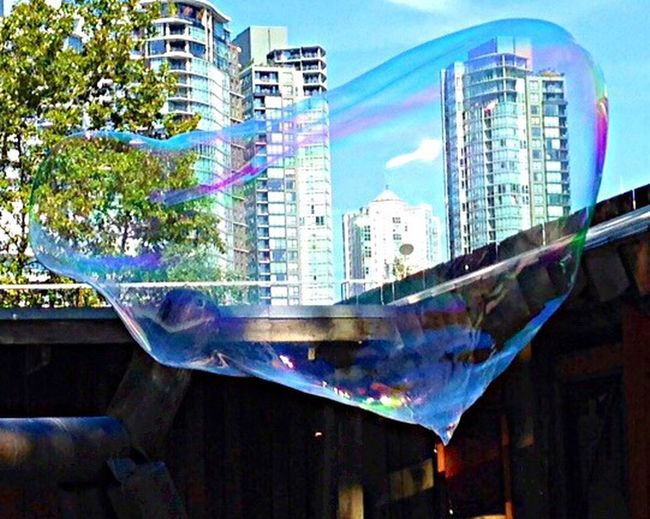 Vancouver in a bubble