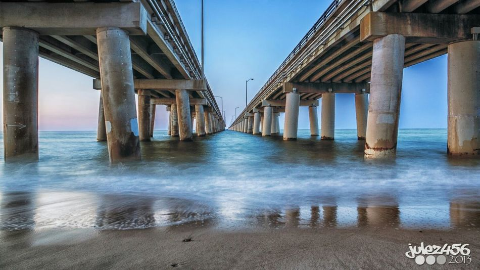 Took this picture last year at the Chesapeake Bay Bridge.