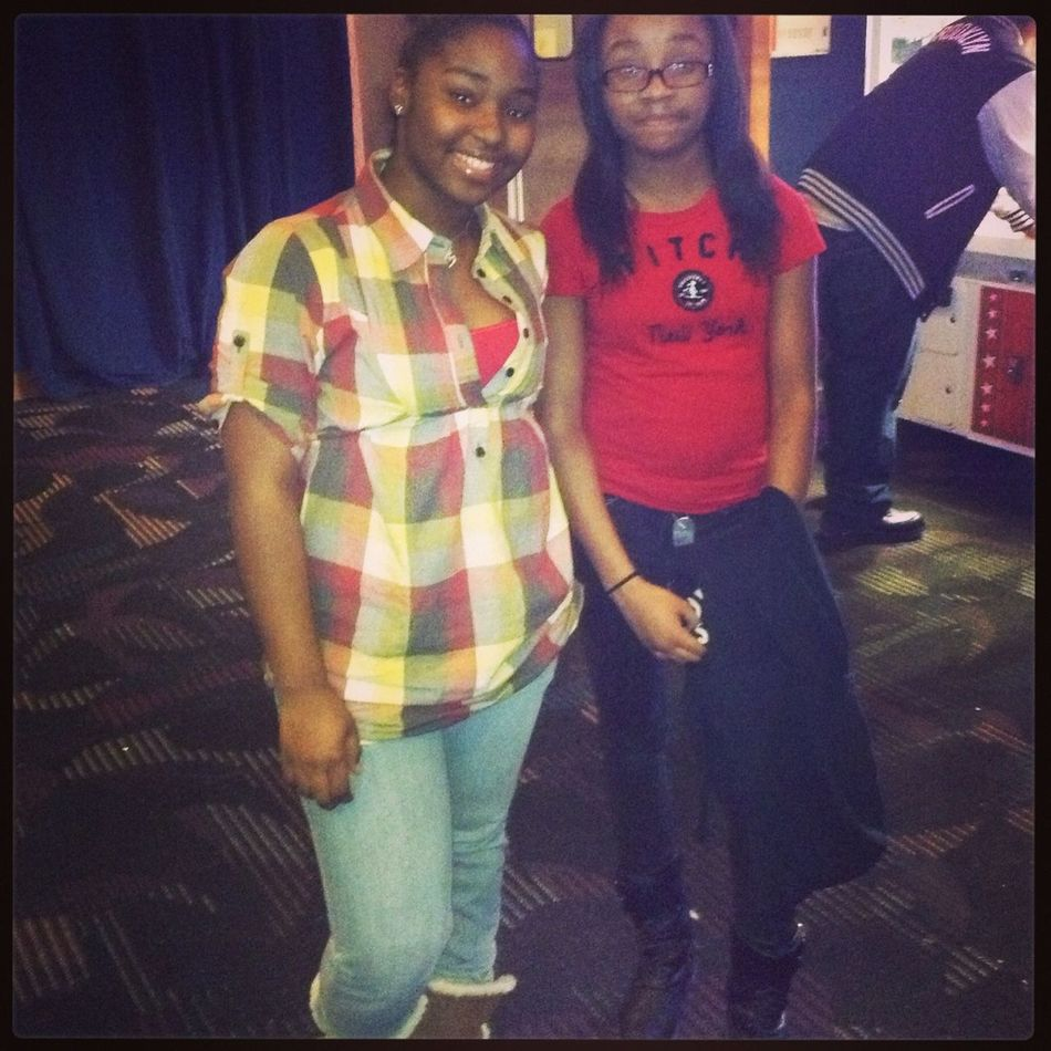 Me & My Sister Yesterday At D&B