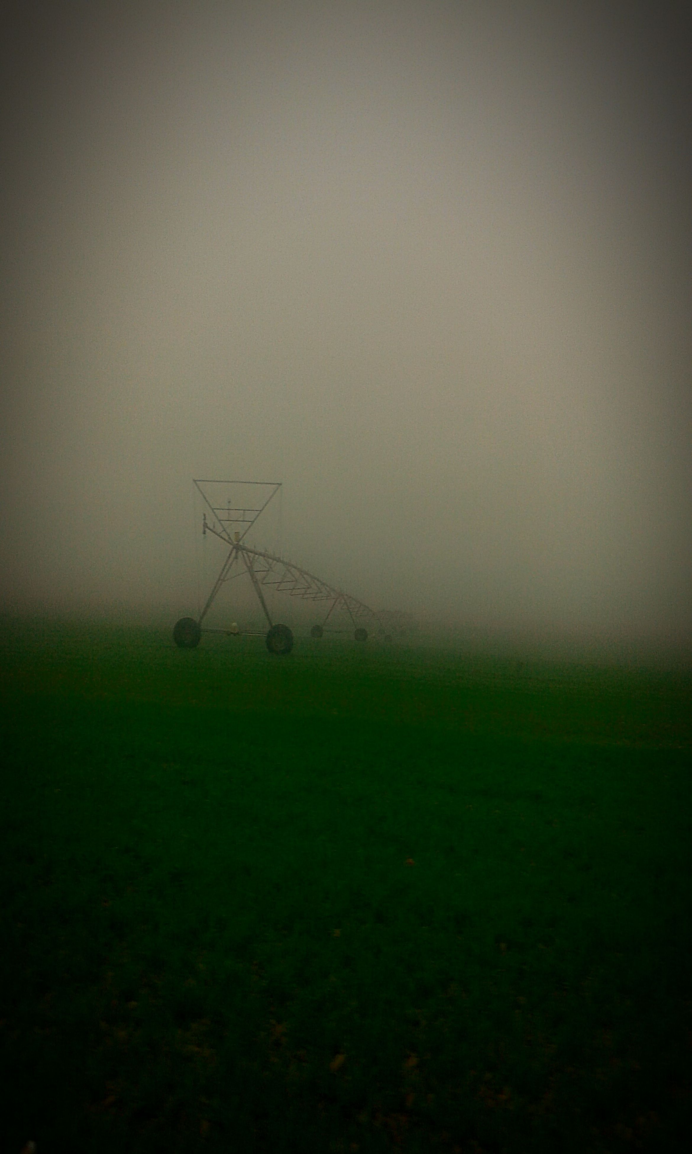 landscape, field, fog, fuel and power generation, copy space, foggy, nature, wind turbine, wind power, tranquility, tranquil scene, alternative energy, dusk, renewable energy, weather, beauty in nature, windmill, environmental conservation, scenics
