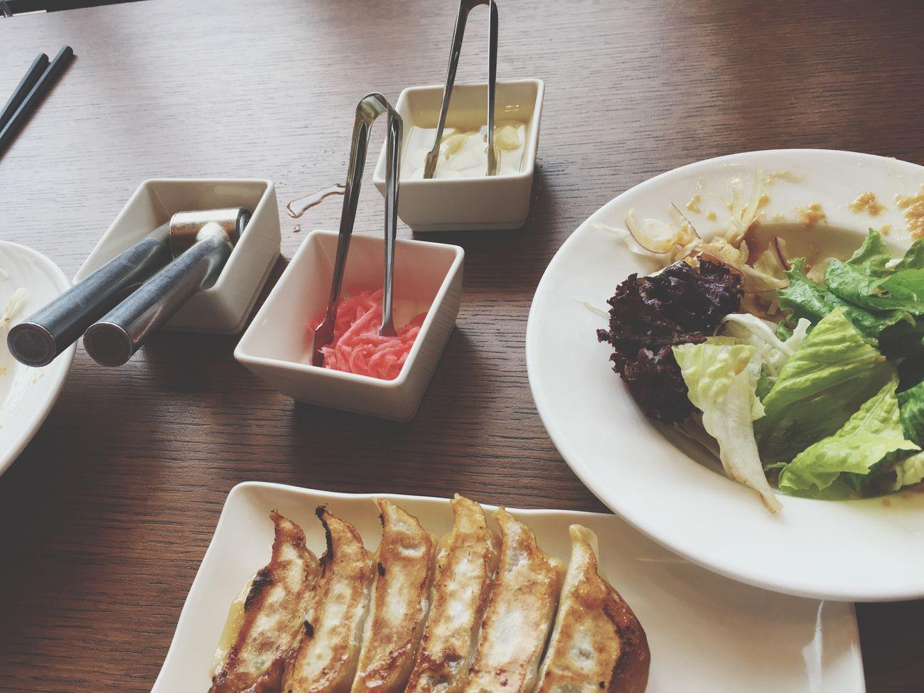 午餐 日式料理 煎餃 Kaohsiung たかお 臺灣 高雄 五月 Taiwan Taiwanese 台湾 May 大魯閣草衙道 一風堂