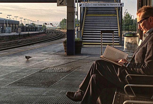 Lost on Platform 2..... Commuting Summer
