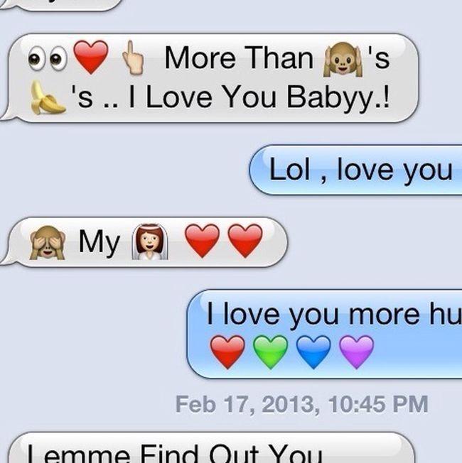 Texting Him<3