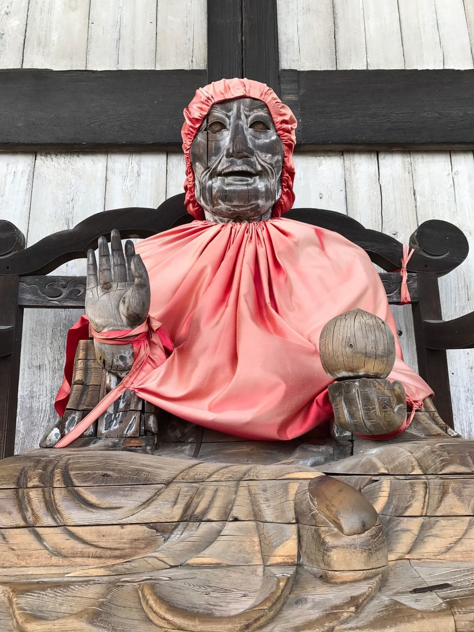 statue, religion, spirituality, red, no people, outdoors, sculpture, day