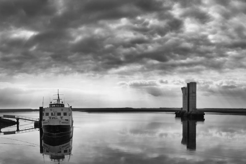 Architecture Boat Built Structure Cloud - Sky Day Nature Nautical Vessel No People Outdoors Ship Sky Storm Cloud Transportation Water Waterfront