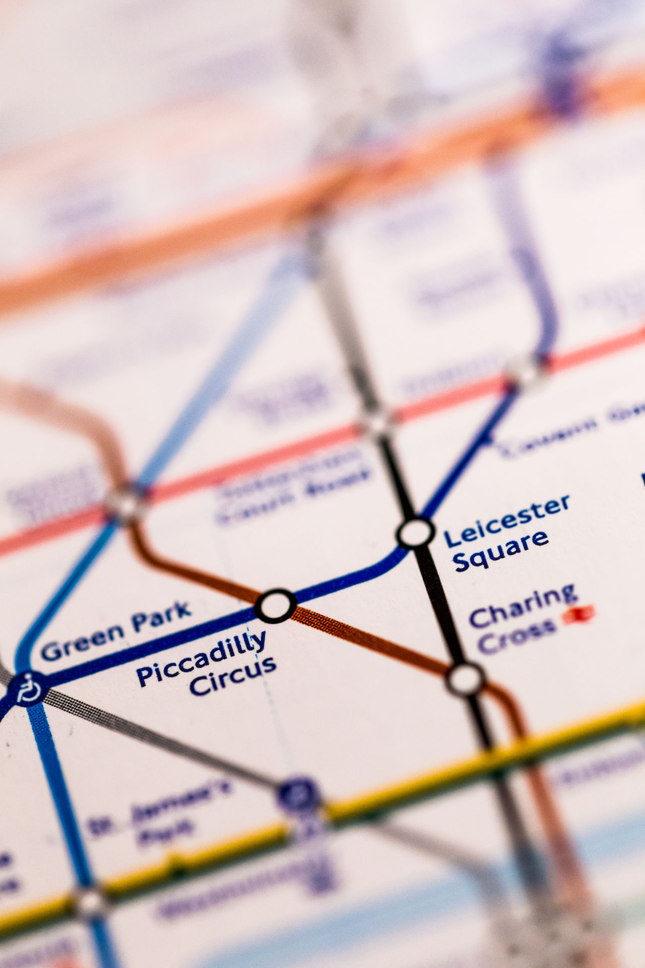 Backgrounds British Culture Central London Close Up Explore Famous Places London London Underground Macro Map No People Picadilly Circus Public Transportation Tourism Train Transport Travel Tube Tube Map Uk Vertical