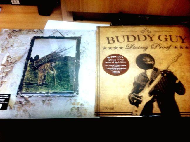 Buddy Guy Led Zeppelin Vynil Vinilos llegaron!!!