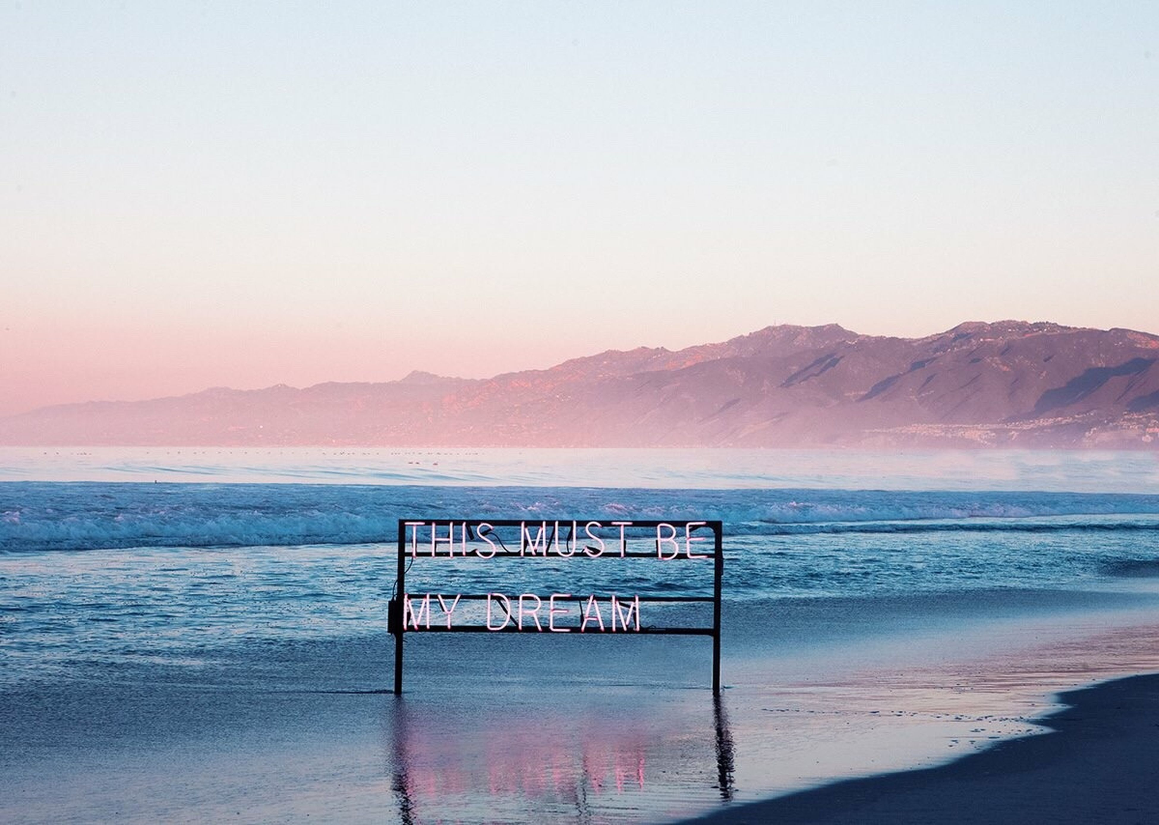 sea, water, beach, scenics, horizon over water, tranquil scene, tranquility, beauty in nature, shore, mountain, nature, clear sky, idyllic, sand, sky, copy space, pier, remote, wave, non-urban scene