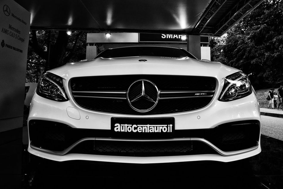 MERCEDES AMG C63 S COUPÈ Black Color Car Cars Close-up Day Focus On Foreground Italia Italy Land Vehicle Mercedes MERCEDES AMG C63 S COUPÈ Mercedes-Benz Mode Of Transport No People Outdoors Part Of Supercar Torino Turin