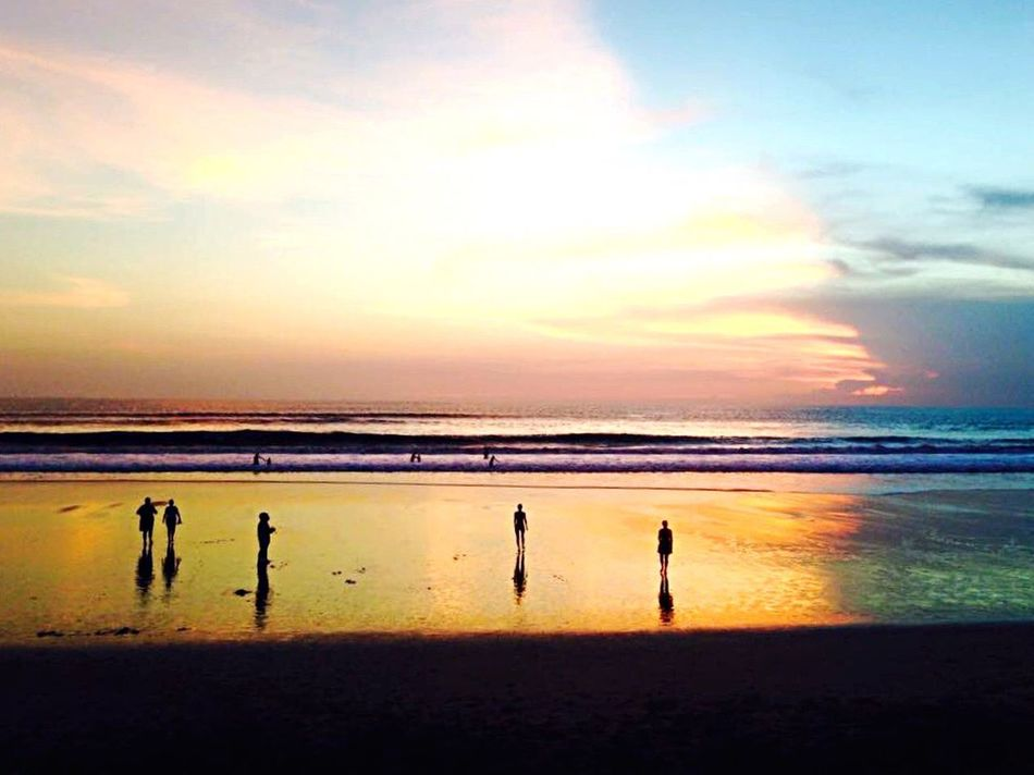 Landscapes With WhiteWall Sunset Sunset_collection Sunset Silhouettes Beachphotography Beach Silhouettes Colourful Landscape Landscape_photography Sunset_captures EyeEm Best Shots March Showcase Travel Travel Indonesia Things I Like