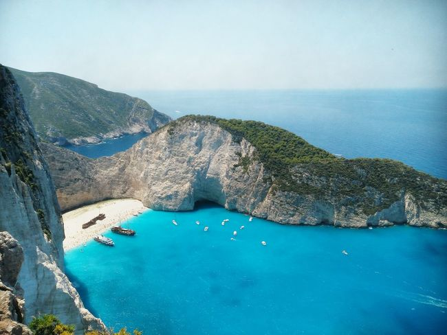 Shipwreck. Navagio beach, Zakynthos, Greece.Shipwreck Bay Taking Photos Being A Tourist Zakynthos Shipwreck Shipwreck Beach Boat Check This Out Wonderful View Eye4photography  The Week On Eyem Island Nature Photography What A View The Purist (no Edit, No Filter) Beach Life On The Way Showcase July Colour Of Life The Great Outdoors - 2017 EyeEm Awards Live For The Story Perspectives On Nature