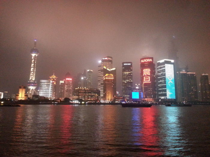 A l'assaut du monde Shanghai❤ Towers And Sky Towers And Night Towers View Fleuve Chine