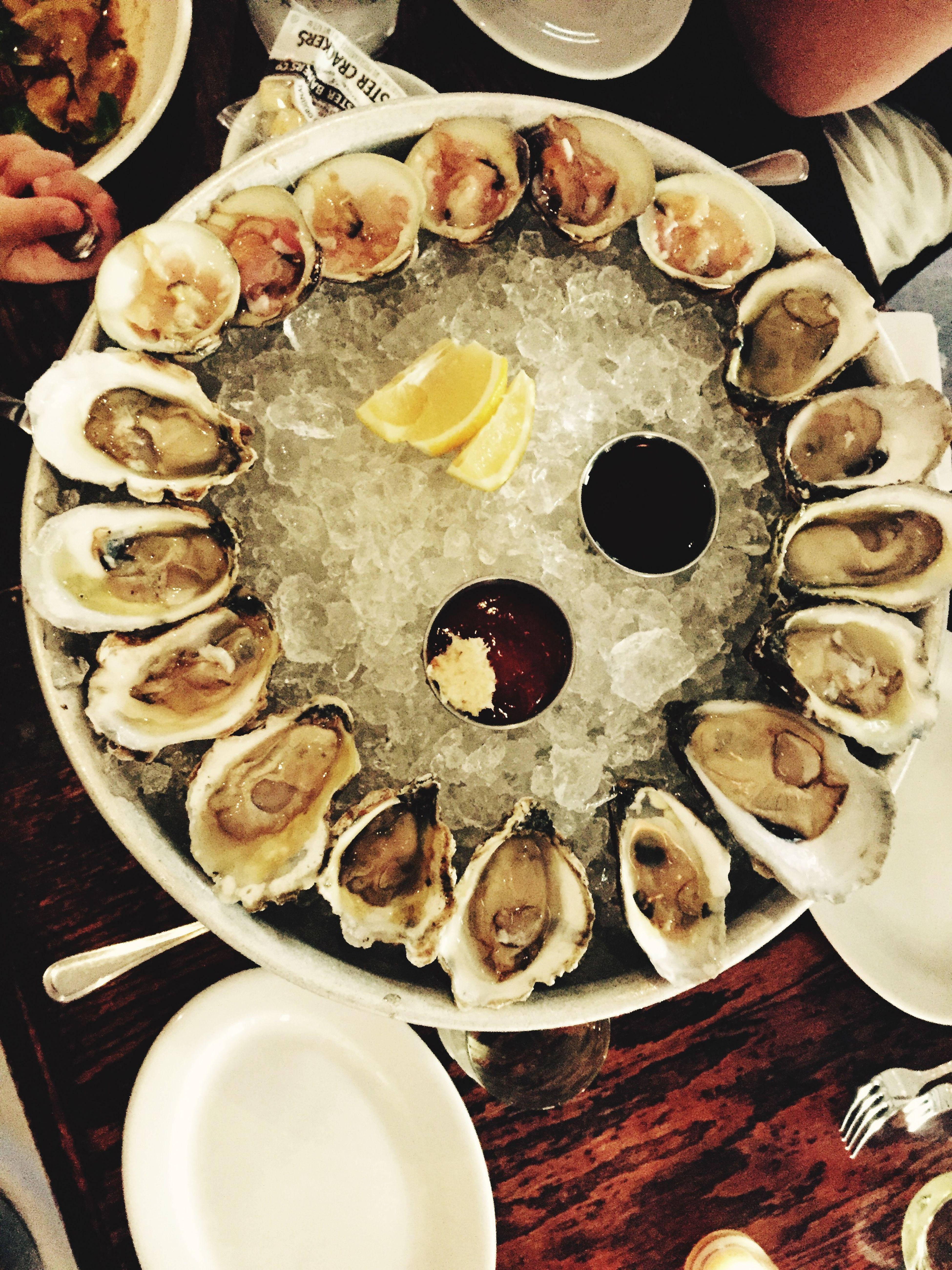Food Porn Awards Oyster is always right. Seafood Santa Barbara