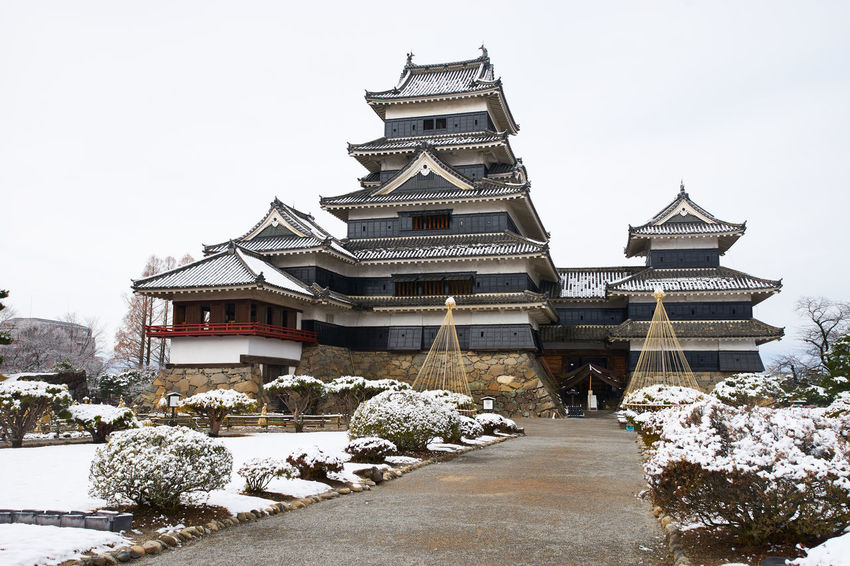 Architecture Building Exterior Built Structure Clear Sky Cold Temperature Low Angle View Matsumoto Matsumoto Castle Matsumoto CITY Matsumoto Japan Ultimate Japan