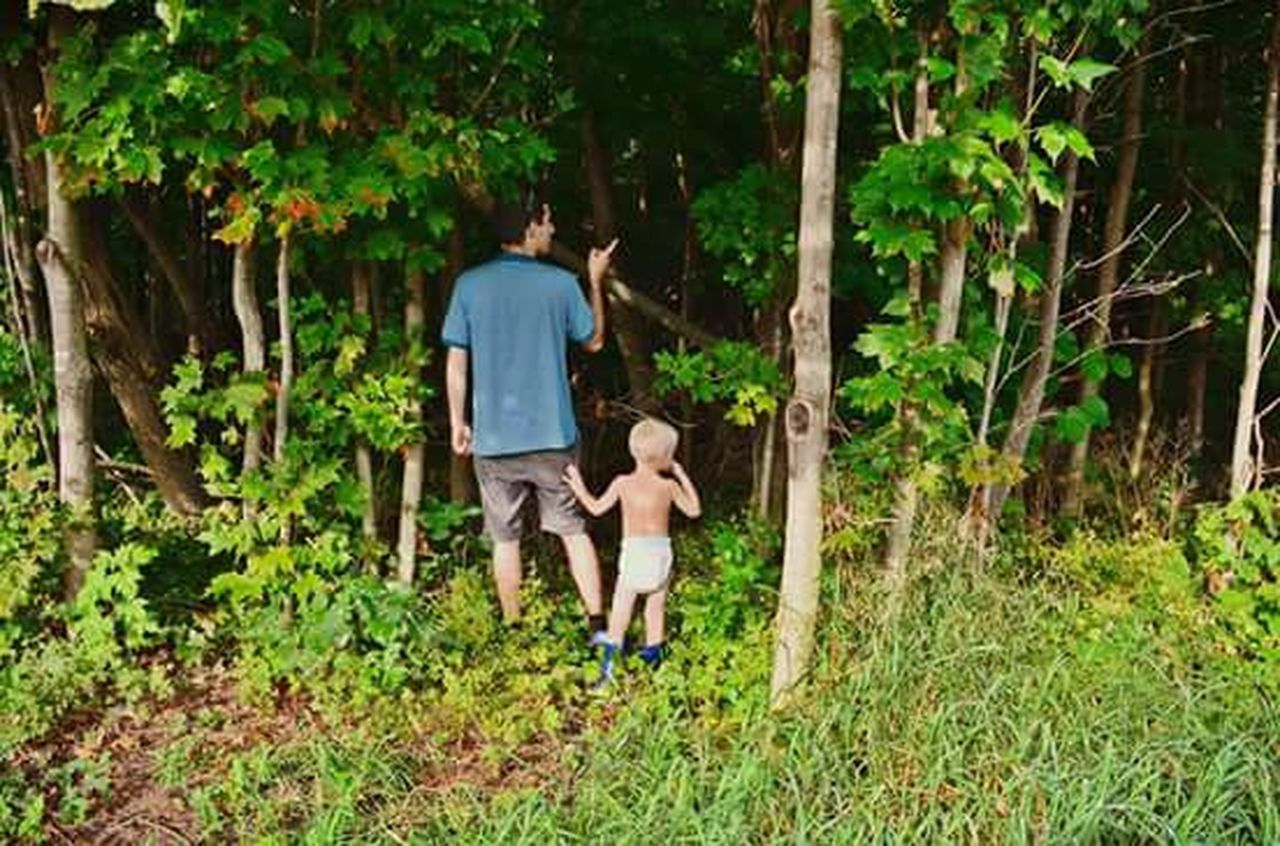Walk In The Woods Rubber Boots Diaper Forest Photography Adventure Love ♥ Cute♡ Forest Walk Forestwalk Tree Naturelovers Adventure Time