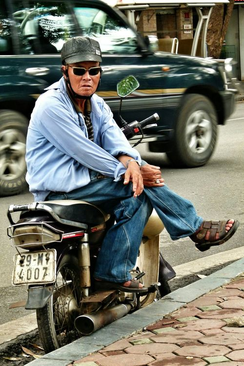 Vietnam ASIA People People Watching To Cool For School  Sunglasses Old But Awesome Gangsters Paradise Up Close Street Photography Telling Stories Differently The Portraitist - 2016 EyeEm Awards The Street Photographer - 2016 EyeEm Awards Uniqueness Connected By Travel