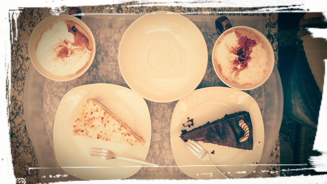 Cake at landcafe