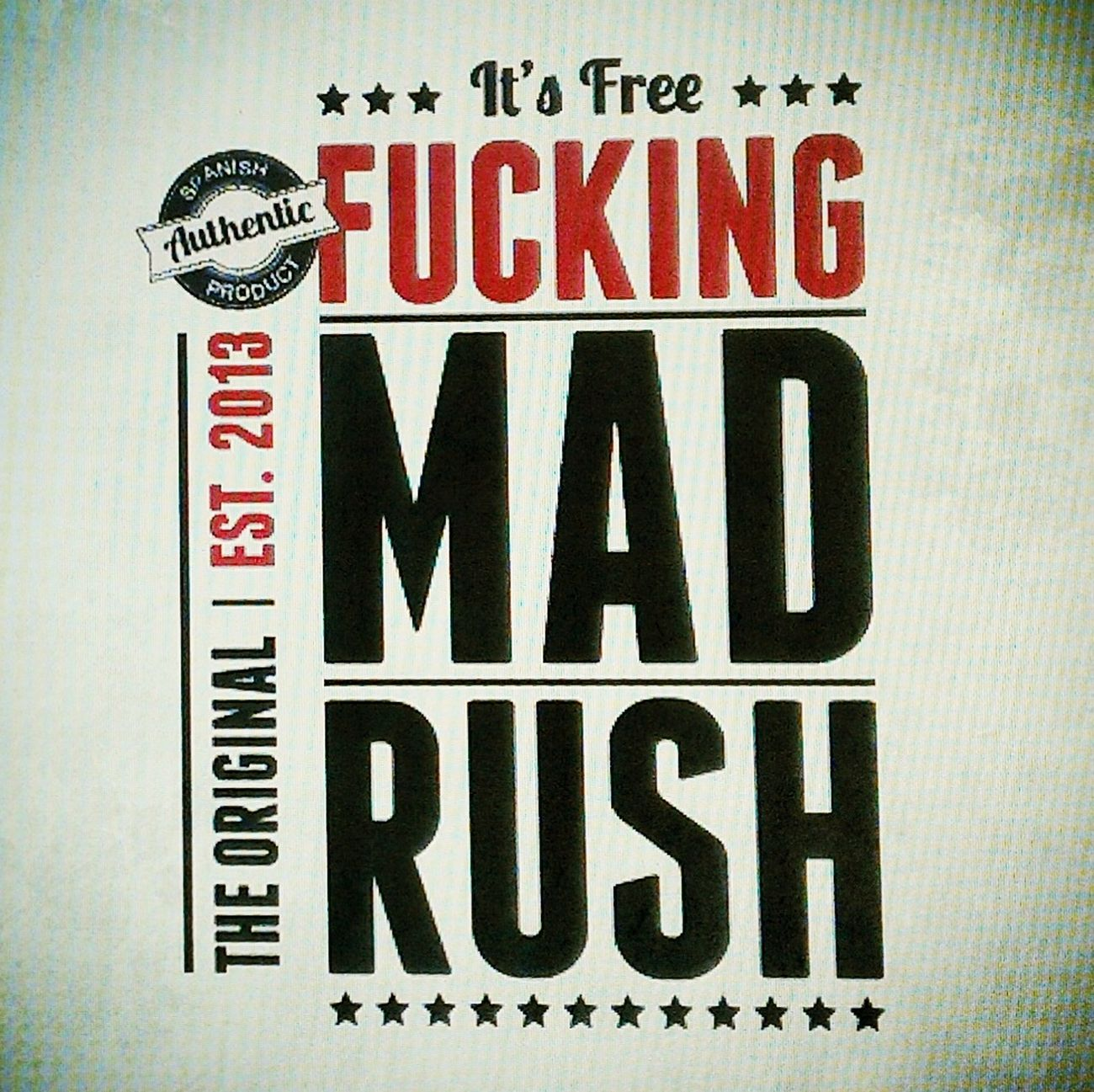 Design Feedback PUTAS PRISAS FUCKING MAD RUSH
