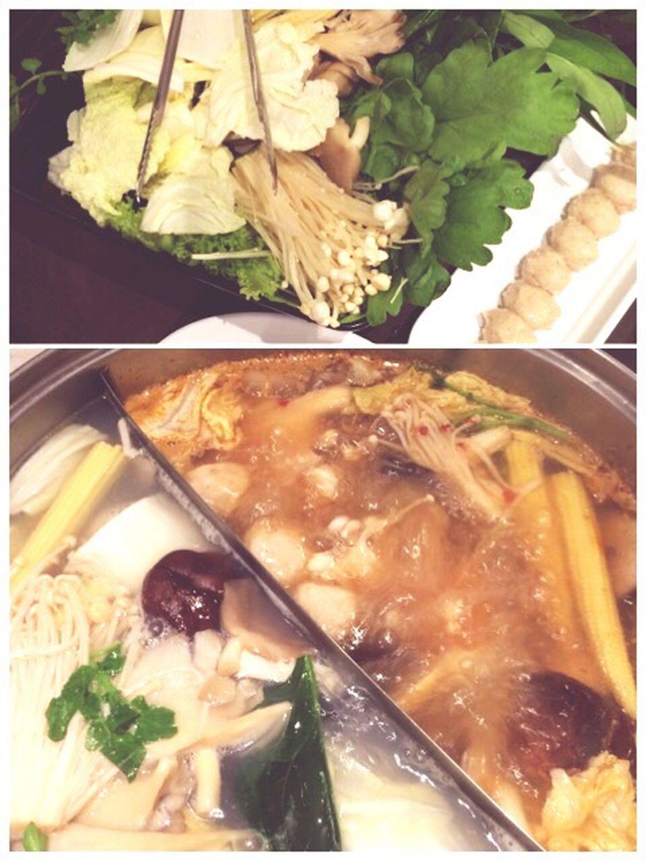 每次去新加坡都会光顾的泰国火锅。给胖的已经面目全非的小冰箱~ Eating
