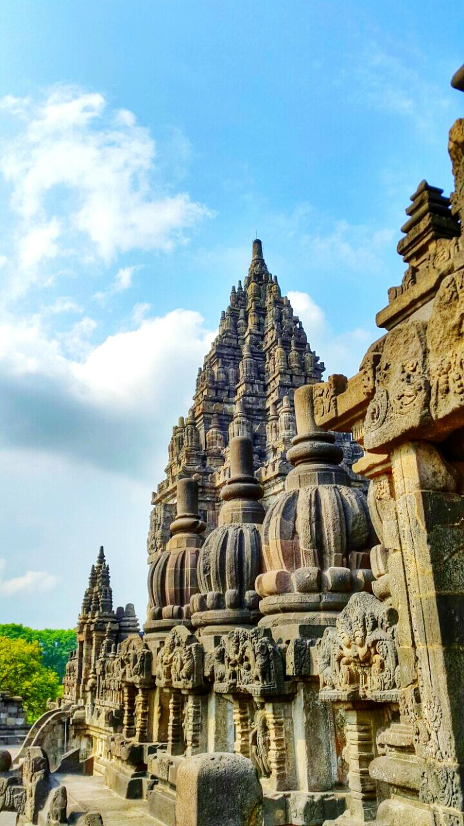 Travel Destinations Religion Built Structure Old Ruin Ancient Civilization Building Exterior Cloud - Sky Archaeology History Yogyakarta, Indonesia Indonesia Culture Prambanan Temple Arts Culture And Entertainment
