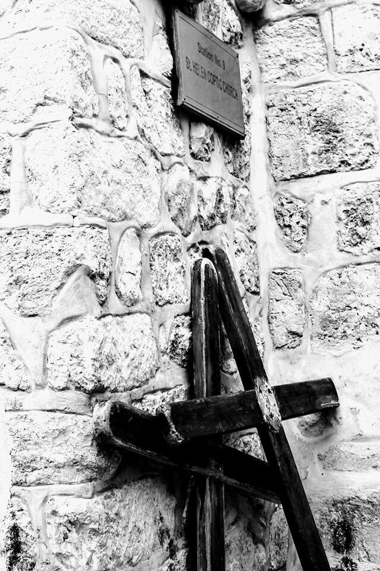 History Jerusalem Cross Holy City Israel Architecture City Architecture Emotions The Way Forward Blackandwhite