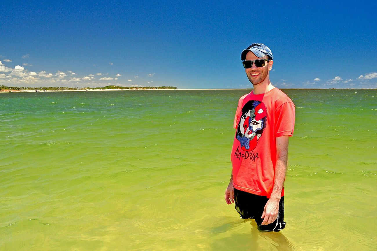 That's Me Brazilian Beard Man Enjoying Life Nature Life Is A Beach Praia Dos Carneiros Pernambuco -Brazil Faces Of EyeEm