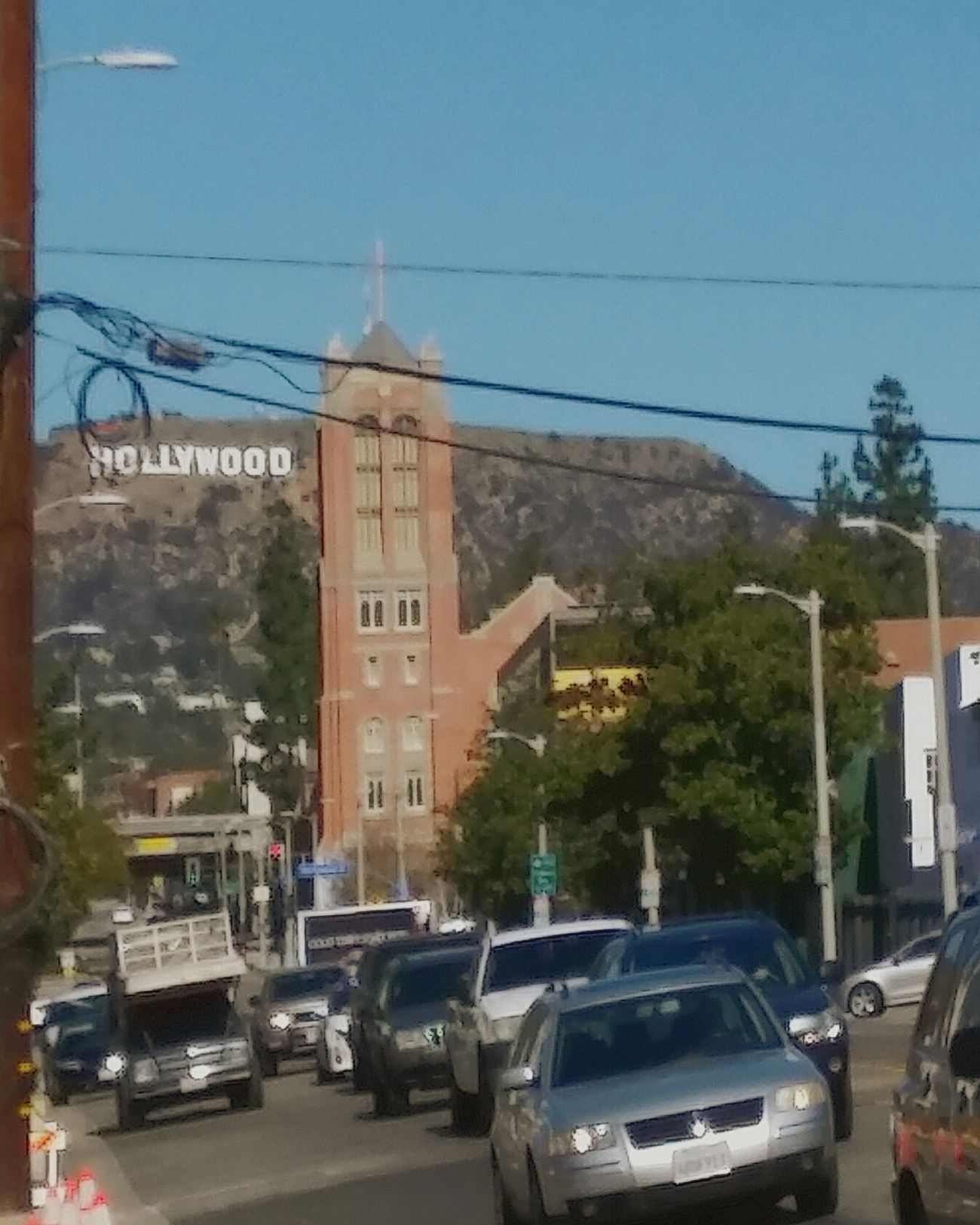 Hollywood Hollywood Sign Losangeles Sunset Blvd. Market