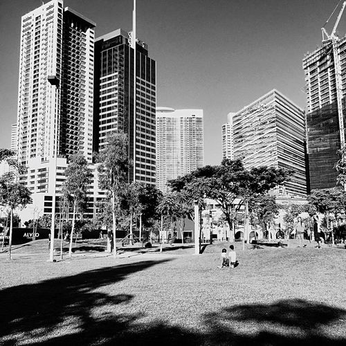 Global City Check This Out Blackandwhite Philippines Summer Sunrise Taking Photos BGC, Taguig