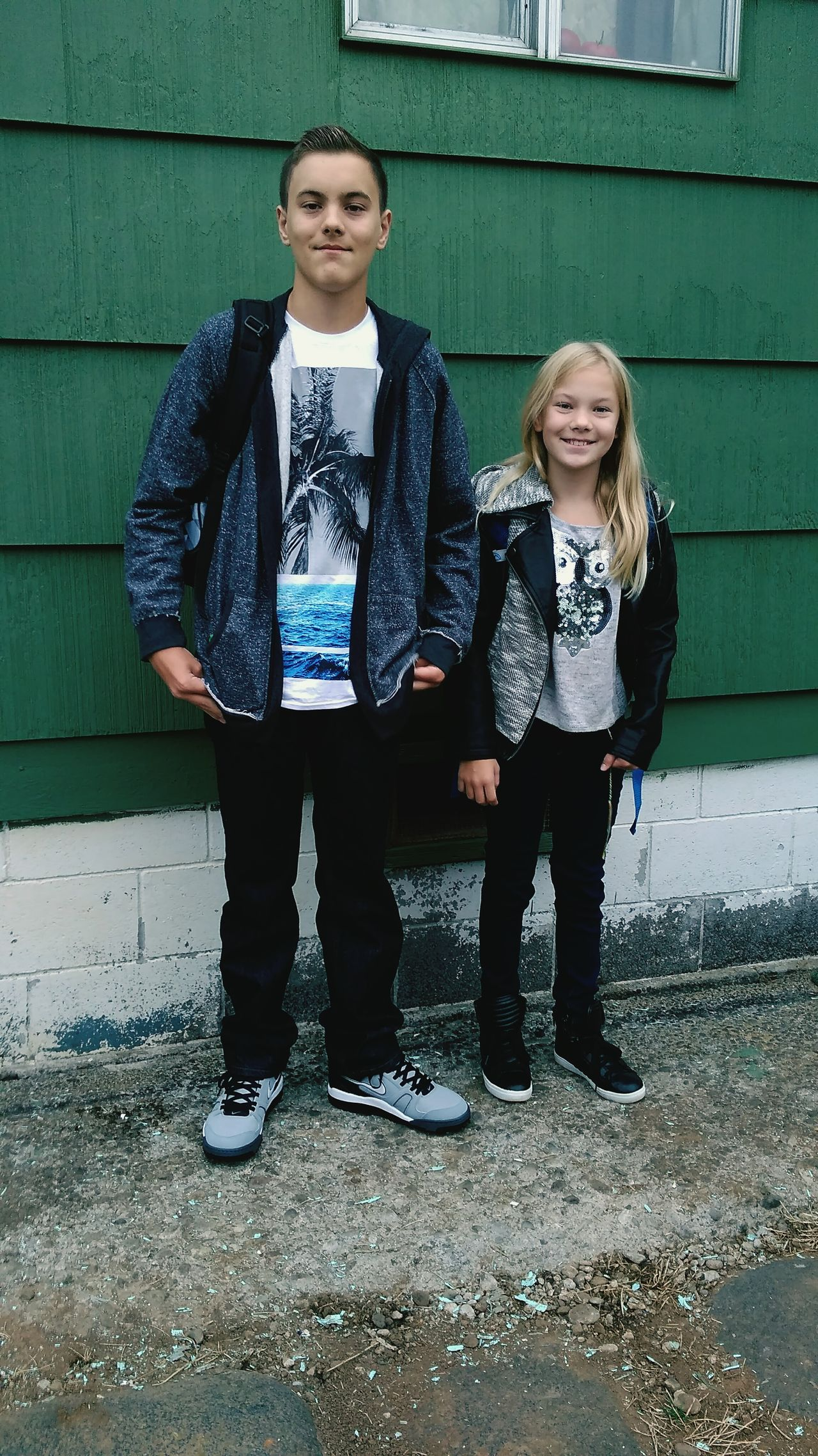 Brother And Sister First Day Of School Junior High School 7th Grade Elementary School 5th Grade