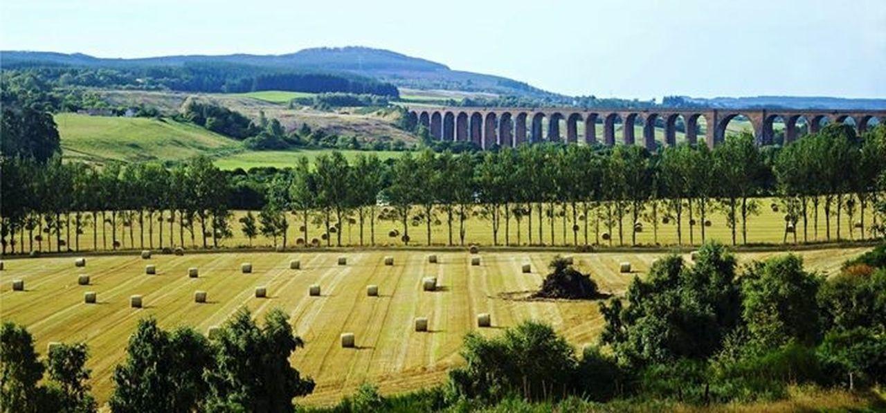 Culloden Viaduct Harvest Time Landscape Nature On Your Doorstep Scottish Highlands Scotland Leading Lines