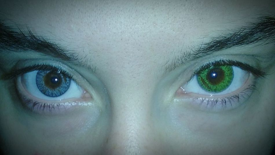 Filter Vignette Manipulated Colored Contacts  Eyes