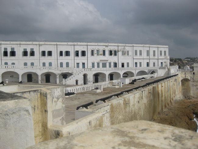 Arch Architectural Column Architecture Building Built Structure Cape Coast Cape Coast Castle Ghana Historic History The Past