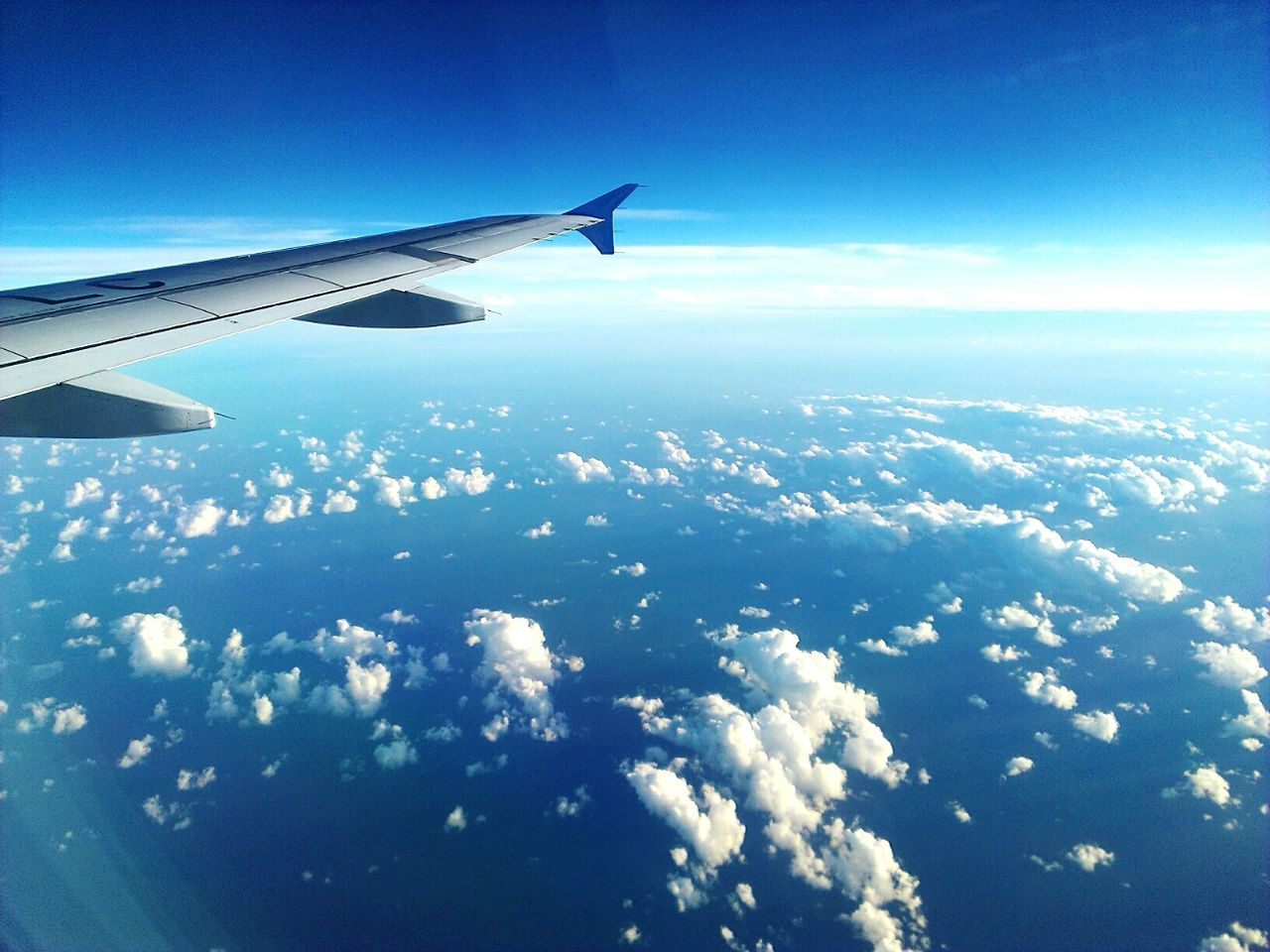 Airplane Flying Blue Cloud - Sky Aerial View Sky Aircraft Wing No People Beauty In Nature Business Finance And Industry Airplane Wing Day Outdoors Cloudscape Travel Transportation Commercial Airplane Journey Plane A320 Mobile Photography