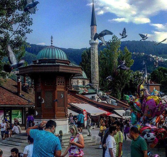 Sebilj, Baščaršija🇧🇦 Lifestyles Sarajevo BIH Bosna Sebilj Bascarsija First Eyeem Photo Battle Of The Cities