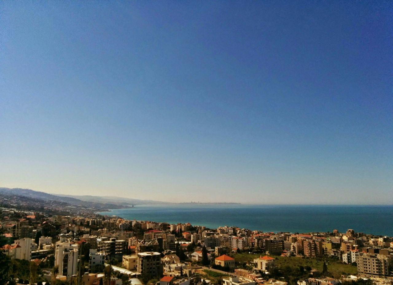 Byblos Overlooks Beirut The Easter Mediterranean Basin Mount Lebanon