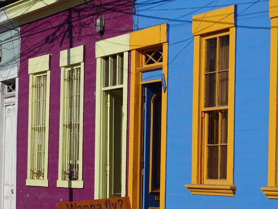 Architecture Building Built Structure Day Iquique Chile  Multi Colored No People Outdoors