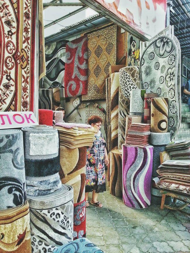 Outdoor Photography Marketplace Eastern Europe Carpet Carpet Shop Colorful Carpet Moldova Exploring The City
